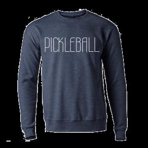 Pickleball Fleece Navy Sweatshirt
