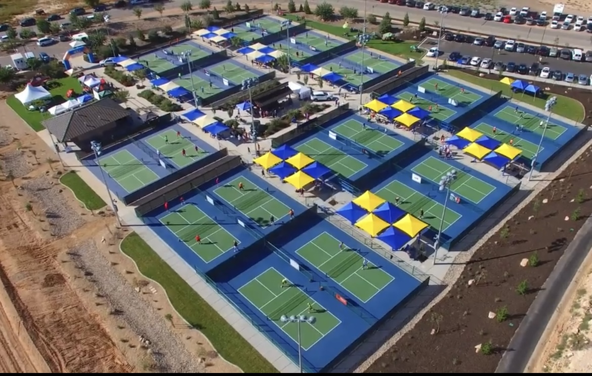 St. George, Utah -- Little Valley Pickleball Complex