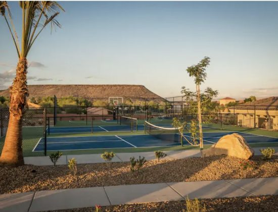 Airbnb with Pickleball Courts