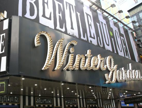 Beetle Juice on Broadway